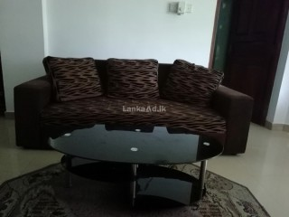 Full Sofa Set with Table for Sale!