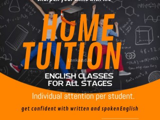 English classes for all stages