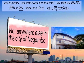 NEGOMBO TOWN VALUABLE LAND & BUILDING