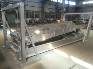 3 decks stainless steel gyratory reciprocating screener machine for sale