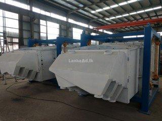Innovative high capacity rectangular gyratory screening machine and equipment for sale